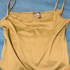 Army green camisole
